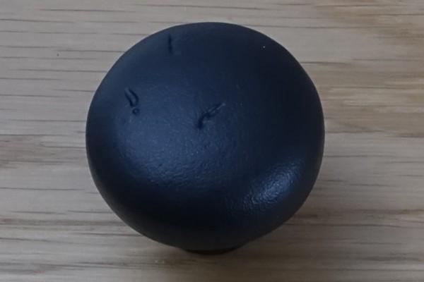 Möbelknopf 35 mm Schwarz-Bronze BLK