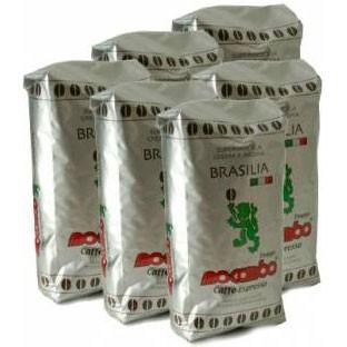 Espresso Mocambo Brasilia 60/40, 6 kg Bohnen
