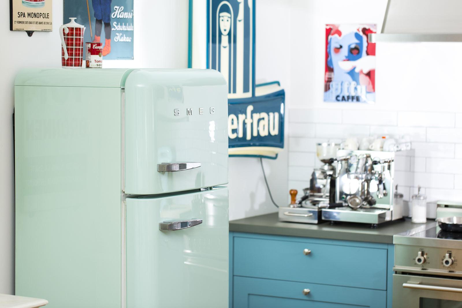 Smeg Kühlschrank Energieeffizienz : Smeg kühlschrank fab pastellgrün welter welter köln