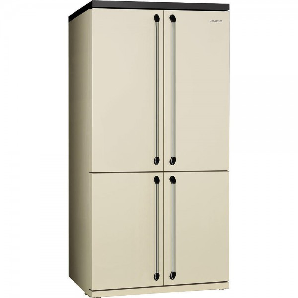smeg victoria side by side k hlschrank fq960p 92 cm welter welter k ln. Black Bedroom Furniture Sets. Home Design Ideas