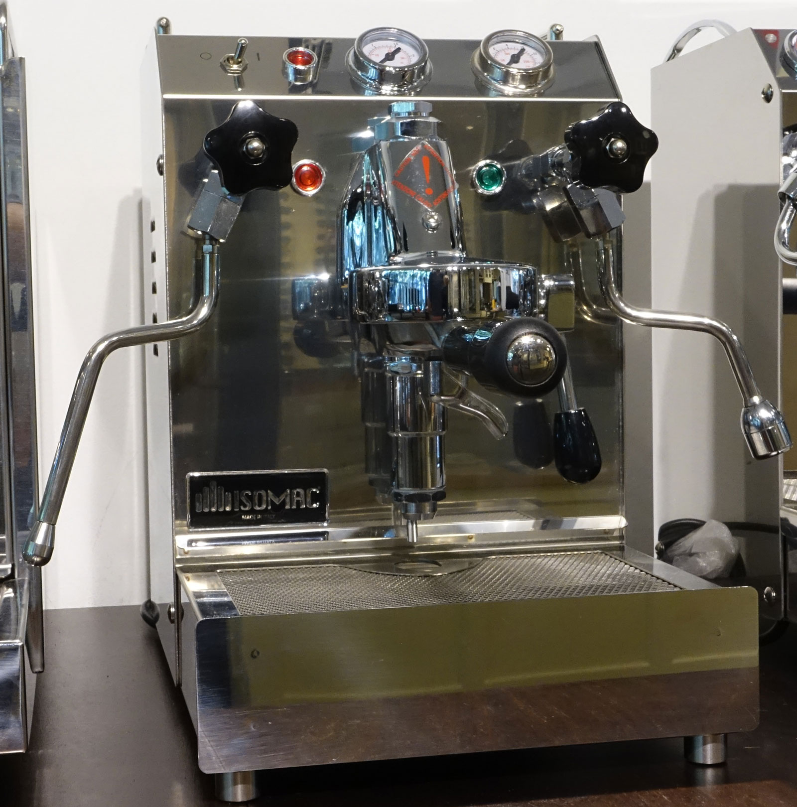 isomac tea espressomaschine cool touch welter und welter k ln. Black Bedroom Furniture Sets. Home Design Ideas