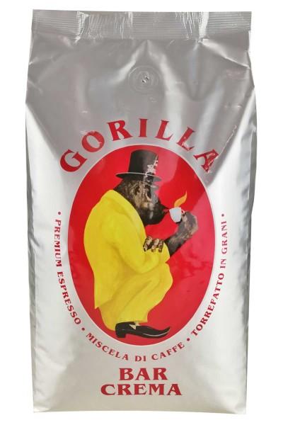 Espresso Gorilla 1 Kg Bohnen - Bar Crema 60/40 % *Abverkauf*
