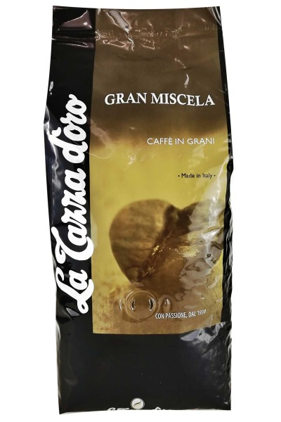 Espresso La Tazza D'Oro Gran Miscela 70/30, 1 kg Bohnen