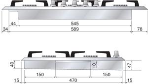 Ilve-H70SDV-Zeichnung