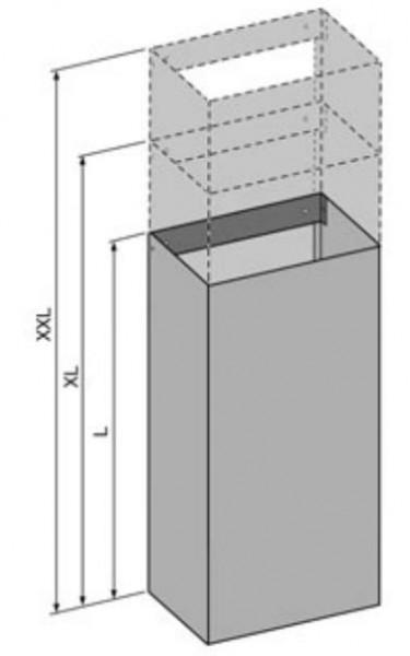 O+F Abluftverkleidung-Schacht für Wandhaube