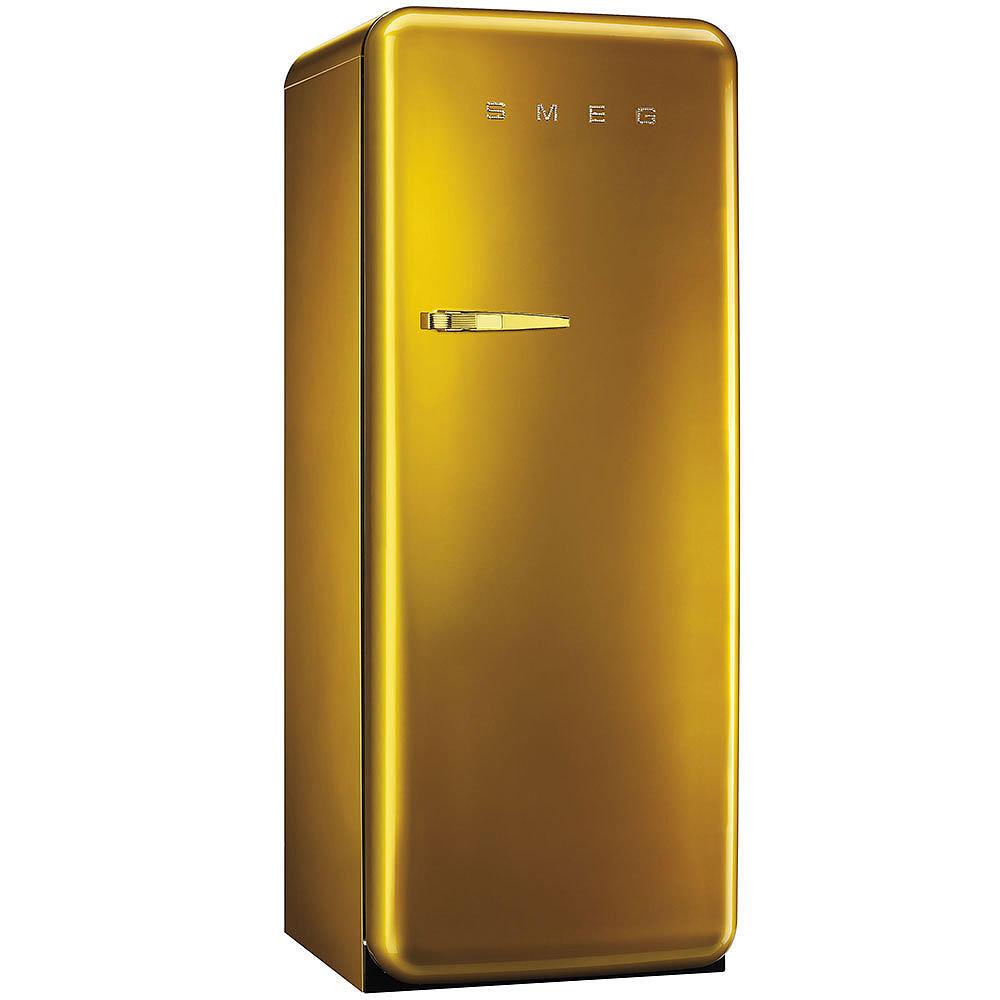 Smeg Kühlschrank FAB28RDG Gold Swarovski | Welter & Welter Köln