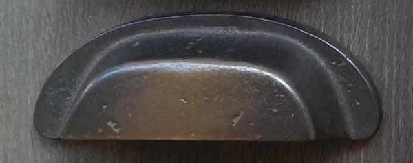 Muschelgriff 88 mm Antik-Bronze AZ