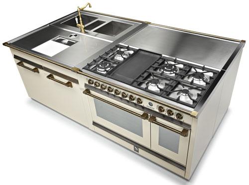 steel modulk chen edelstahlk chen welter und welter k ln. Black Bedroom Furniture Sets. Home Design Ideas