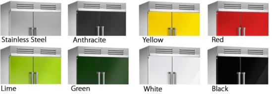 steel genesi side by side kühlschrank