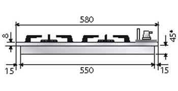 Abmessungen Ilve H360CV