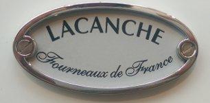 Lacanche Logo auf der Backofentür