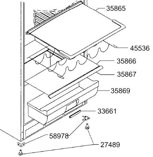 smeg ersatzteil profil f r glasplatte typ b welter welter k ln. Black Bedroom Furniture Sets. Home Design Ideas