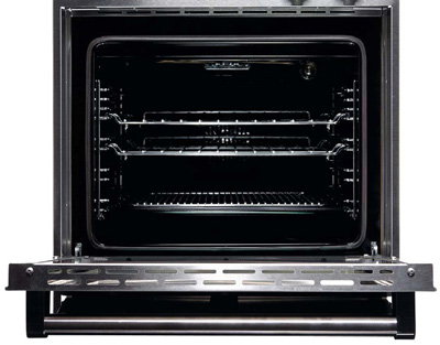 Steel 56 Liter Backofen