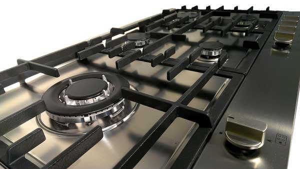 steel genesi gaskochfeld 90 cm welter welter k ln. Black Bedroom Furniture Sets. Home Design Ideas