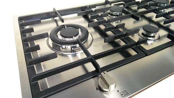 steel genesi gaskochfeld 60 cm welter welter k ln. Black Bedroom Furniture Sets. Home Design Ideas
