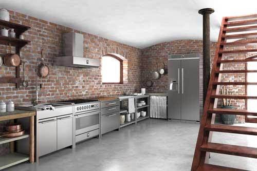 Smeg Kühlschrank Abstand Zur Wand : Steel herde welter & welter köln